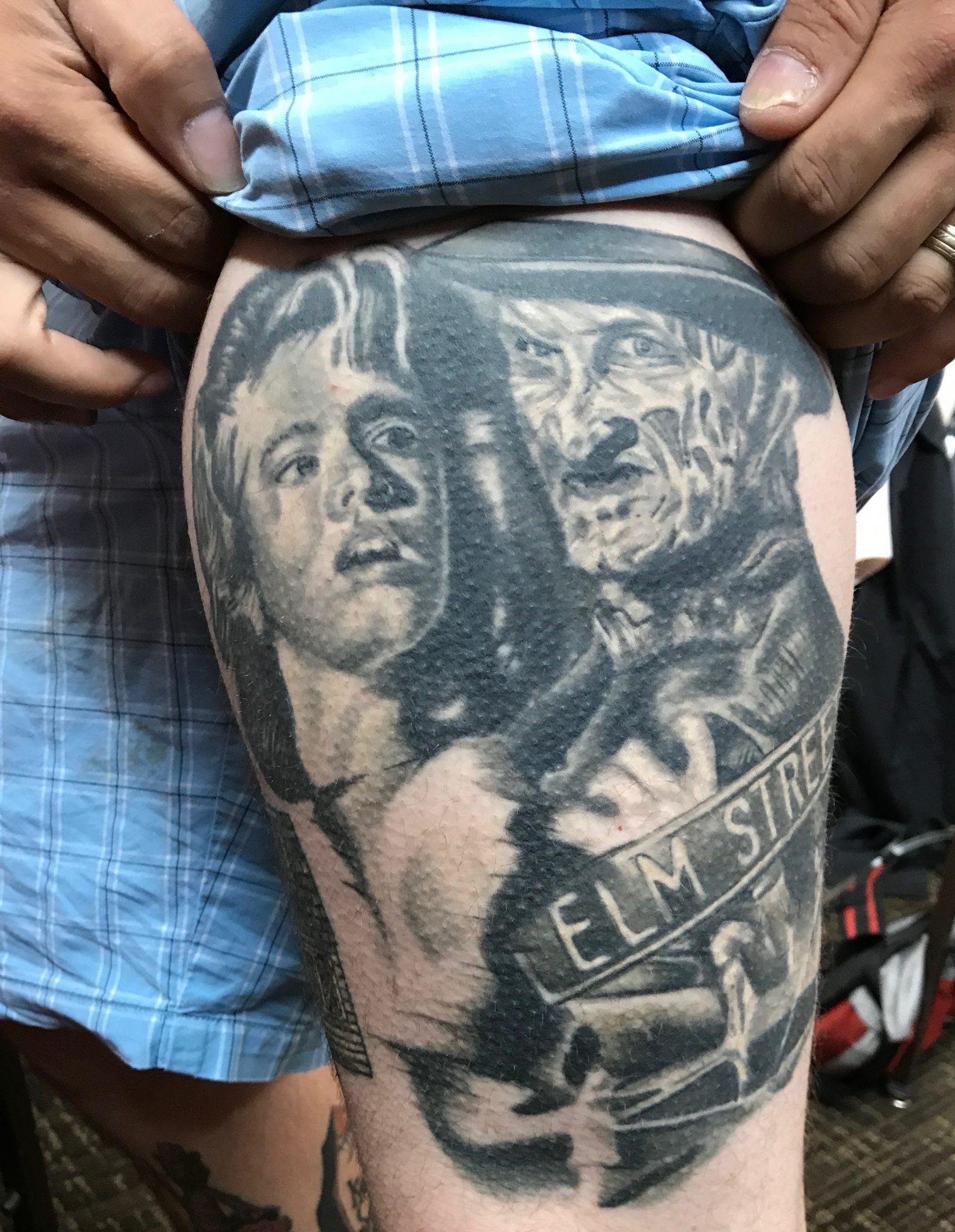 Elm street robert englund for Elm street tattoo