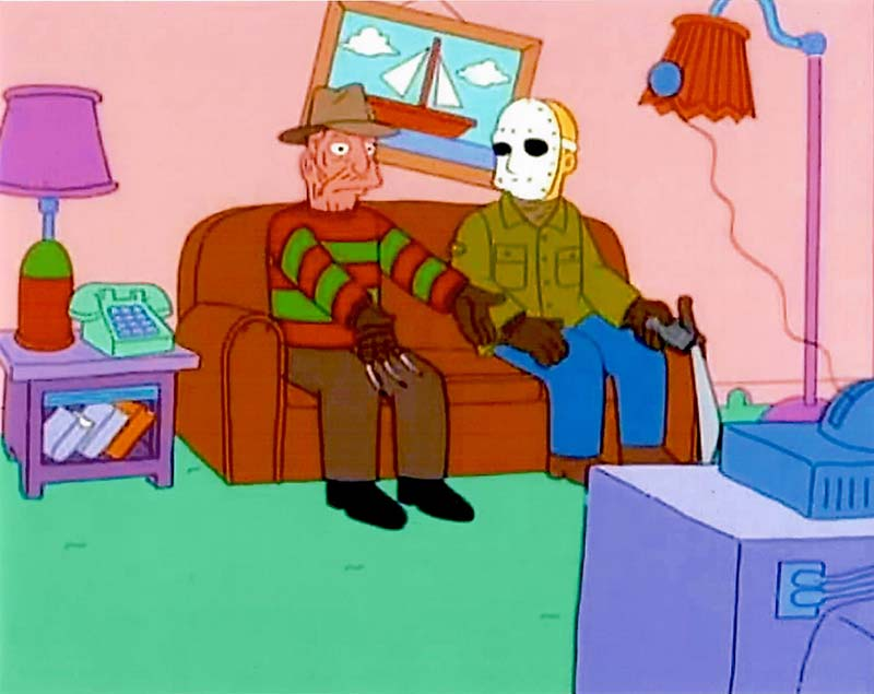 Simpsons Freddy and Jason
